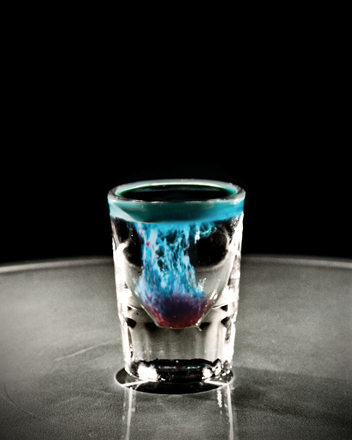 The Alien Brain Hemorrhage.  Photo Credit: Max Monn.